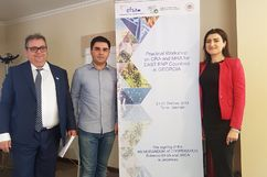 The Armenian delegation have participated in a regional workshop organized by the EFSA (European Food Safety Authority)